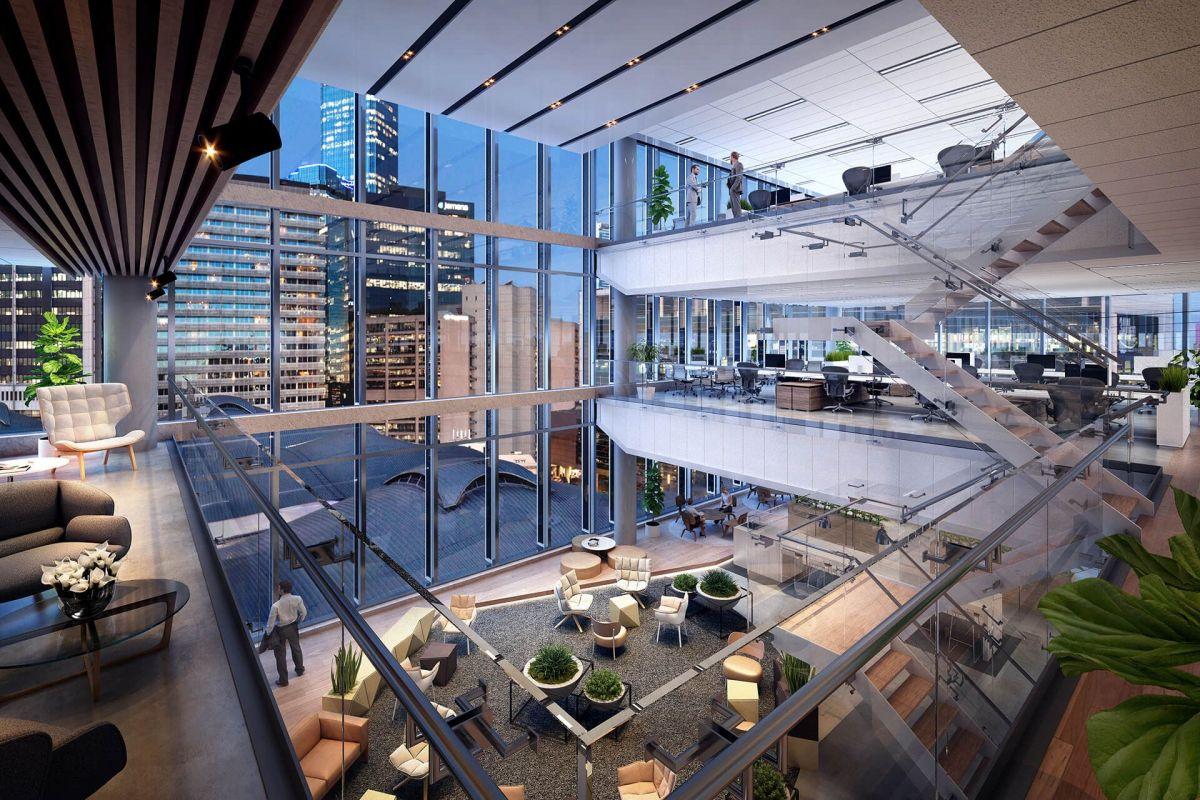 Mirvac's 664 Collins Street will overlook the sculptural roof of Southern Cross Station