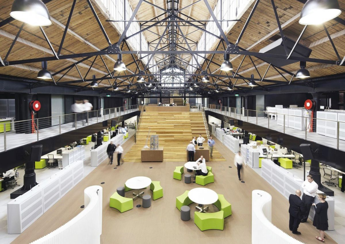 Goods Shed North in Melbourne's Docklands is becoming an epicentre for innovation