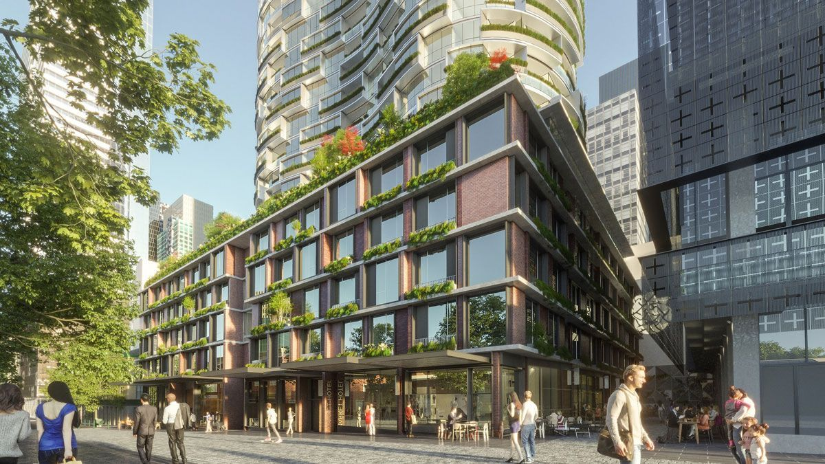The council's upcoming Munro Development will see an 81 room boutique hotel at Queen Victoria Market