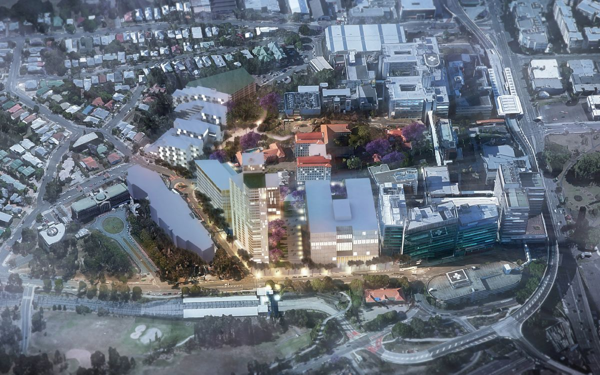 Herston Quarter neighbours the Royal Brisbane and Women's Hospital, and will integrate with the broader Herston Health Precinct