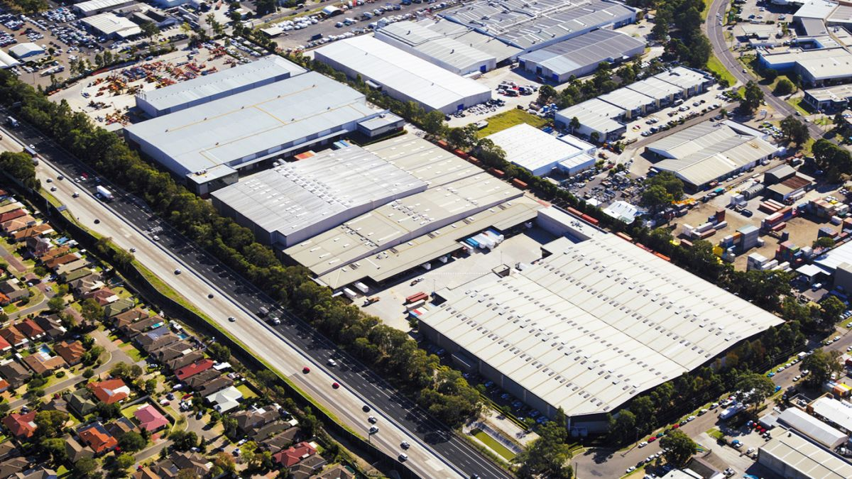 The 43,000 square meter fulfilment centre in Moorebank