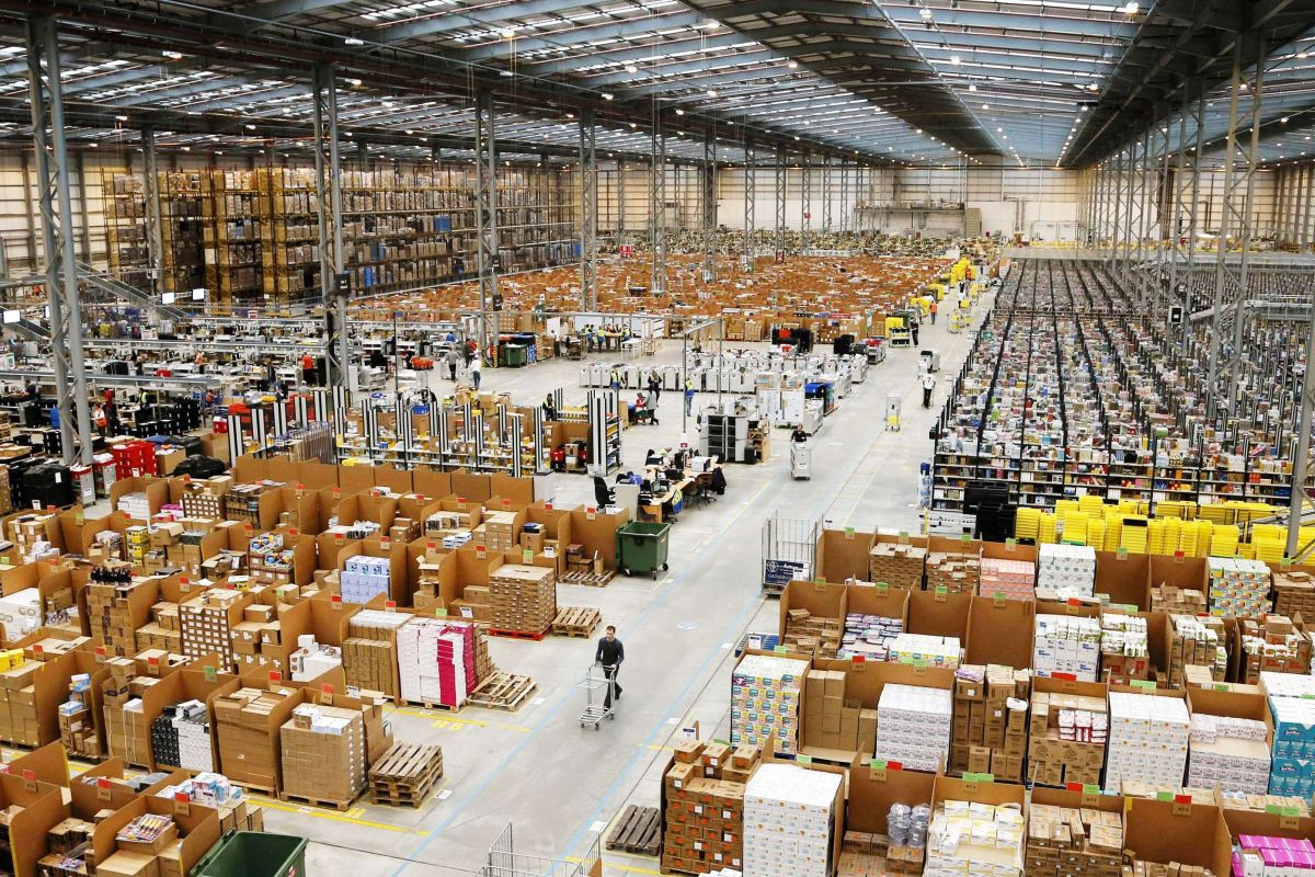 You Can Fit 3 Footy Fields Inside Amazon S New Sydney Warehouse Sidespace Com Au