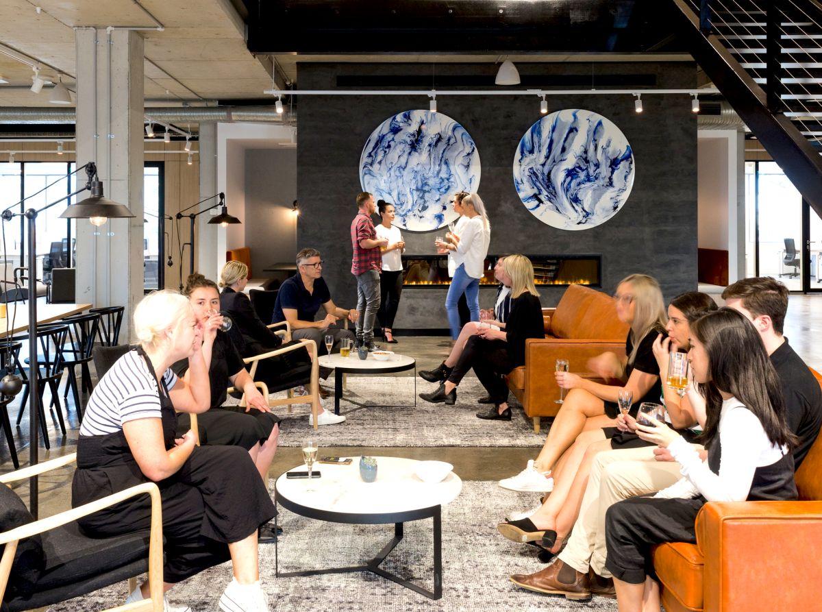 Kafnu's event space in the brand new Alexandra location. Image: Kafnu