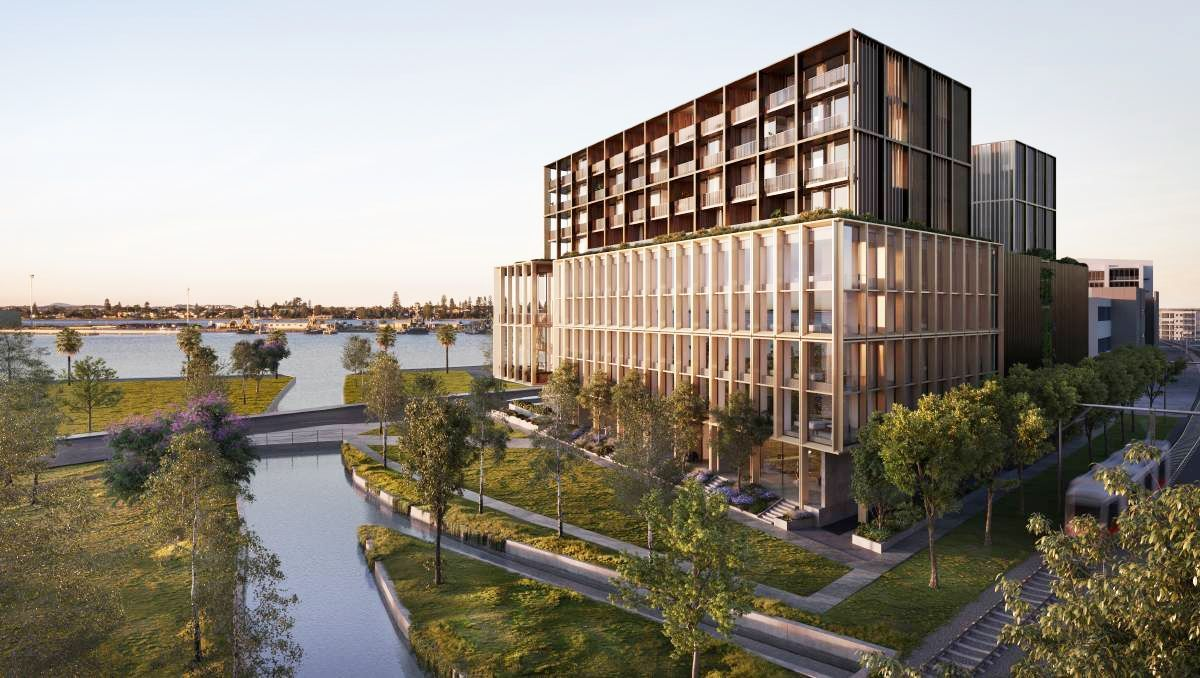 The new office development will be adjacent to the 120-room Little National Hotel completed by Doma in late 2015.