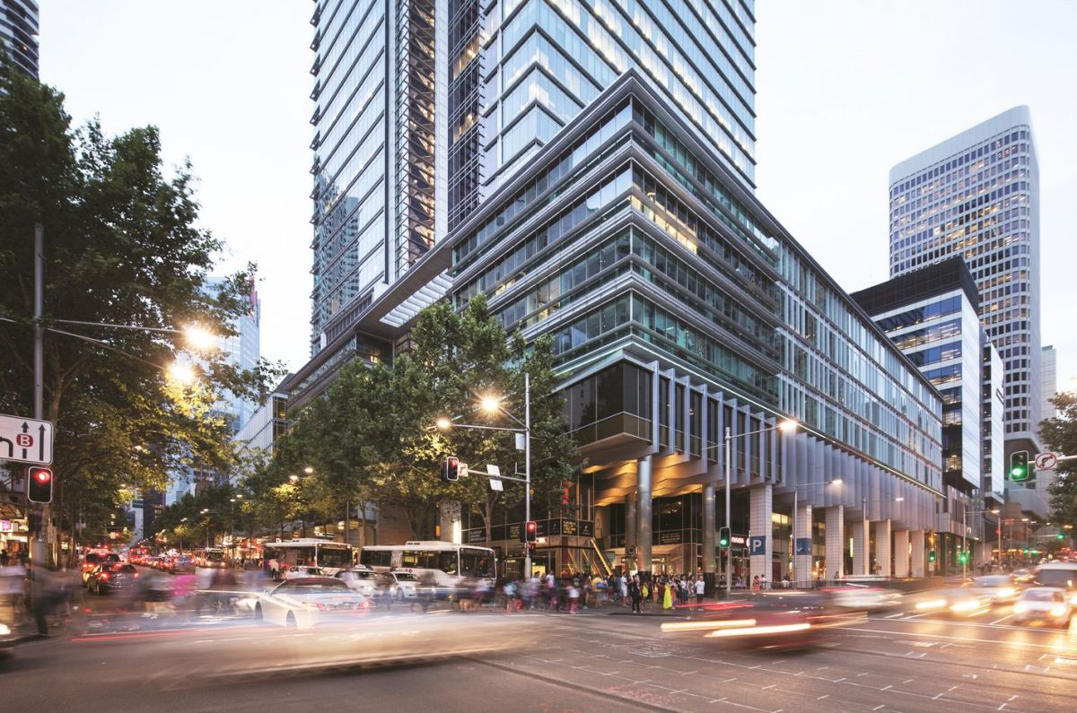 World Square is located in the middle of the CBD, where coworking space is in particular demand.