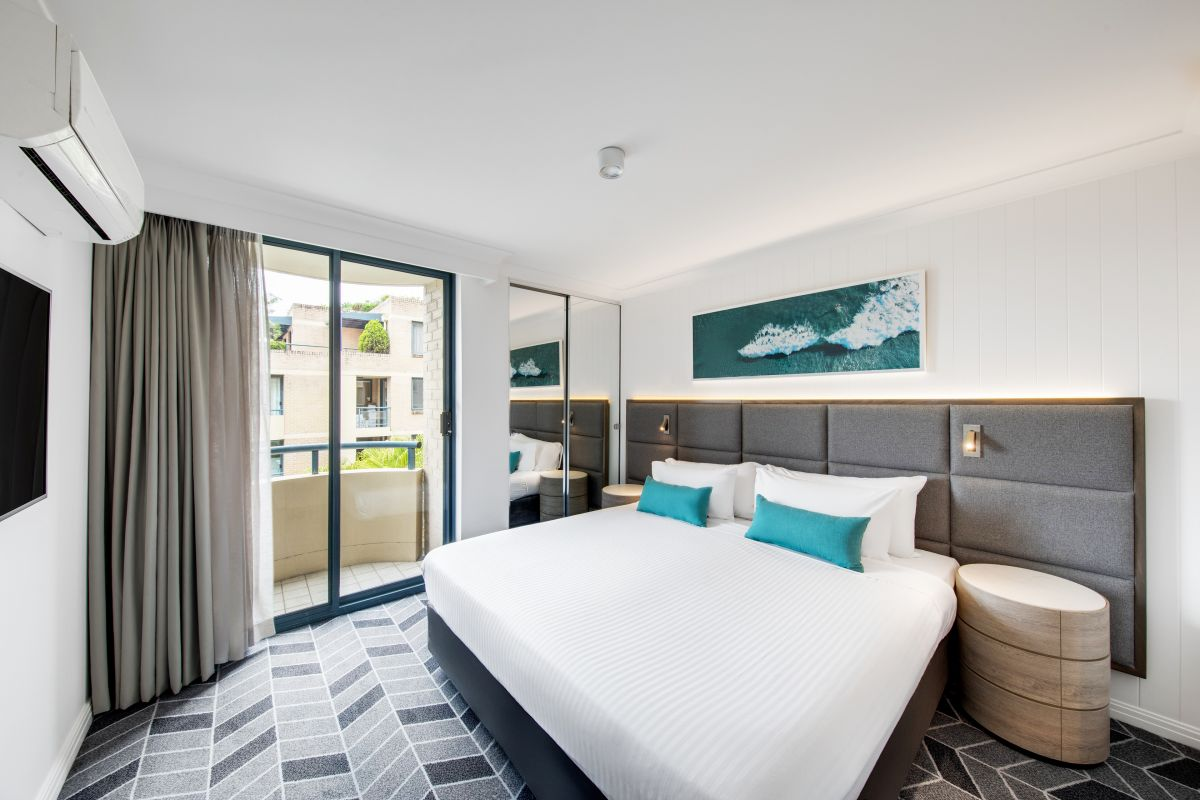 All 86 suites at Adina's Coogee location have been renovated.