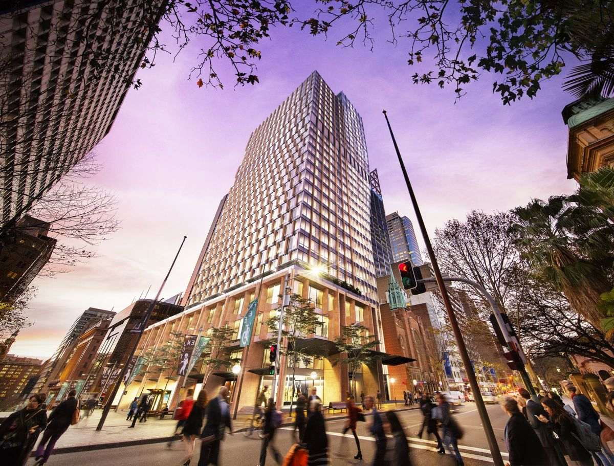 The 33-storey development at 60 Martin Place will become a landmark in the Sydney CBD.
