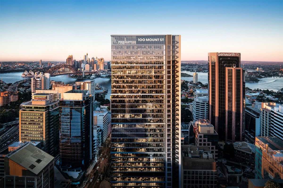 North Sydney is seeing a slew of skyscrapers being built and 100 Mount Street is one of the most anticipated in the city's second CBD.