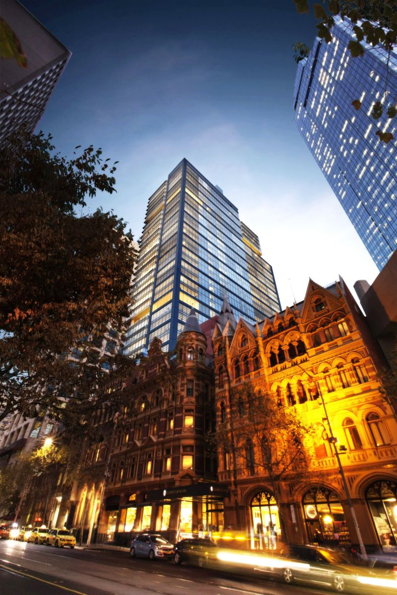 Mirvac's Olderfleet development at 477 Collins Street, Melbourne, will provide 29 levels of premium-grade office space.