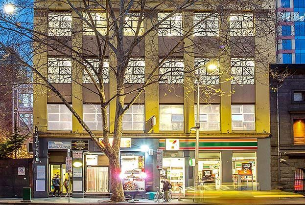 This building at 26-32 King Street, Melbourne, sold on a yield below 3 per cent.