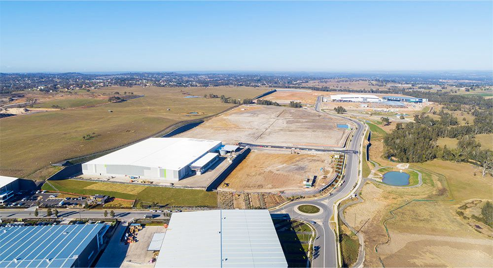 The Oakdale Industrial Estate in Sydney's south-west has three stages, with Oakdale West being the final.