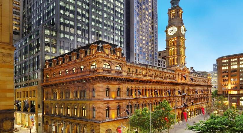 The iconic sandstone building 1 Martin Place is the former GPO of Sydney.