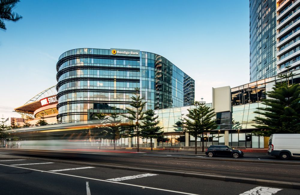 Docklands Headquarters of Bendigo Bank Could Sell for More Than $80M