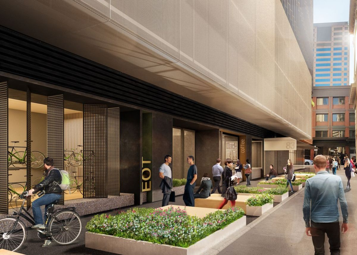 The development will feature end-of-trip facilities, as well as a wellness centre. Image: Supplied