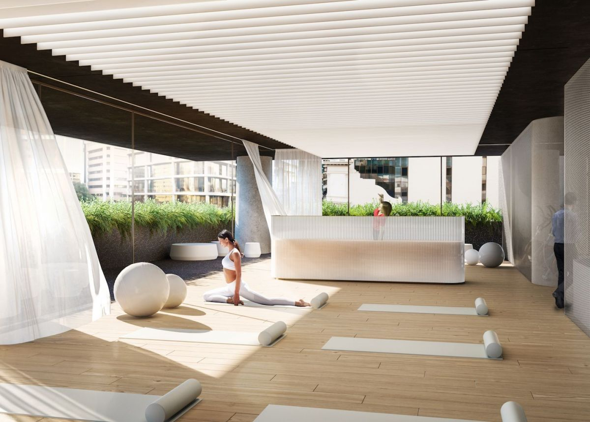 A changing workplace means better amenity offerings in new office developments. Image: Supplied