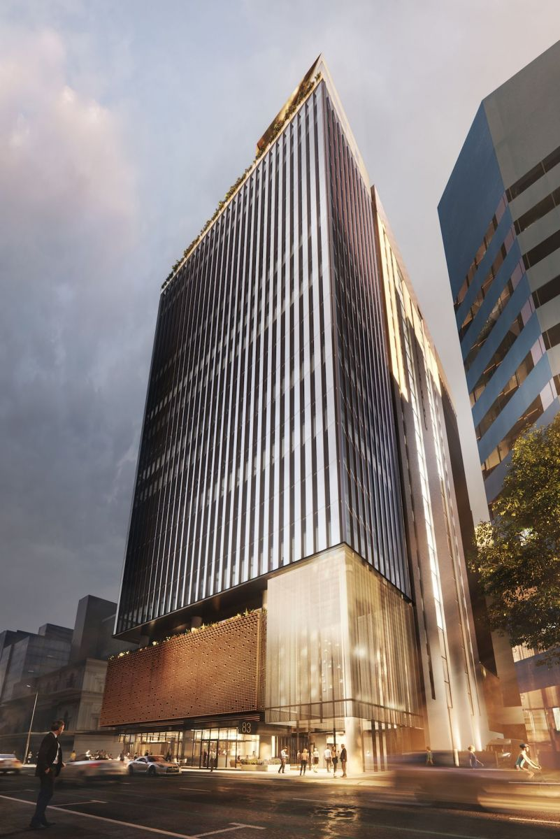 Only 2.3 percent of the Adelaide CBD's premium office space is vacant and 83 Pirie will add to the pipeline. Image: Supplied