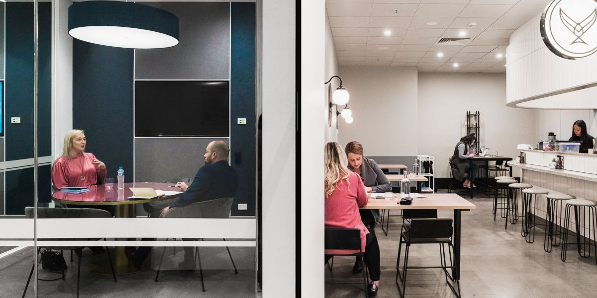 Corporate firms are becoming more drawn to coworking spaces. Photo: Supplied