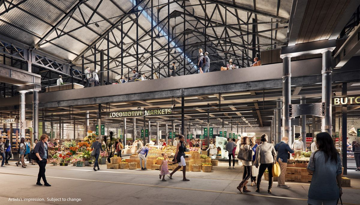 The retail area will be open to the general public and will extend beyond normal working hours. Image: Supplied