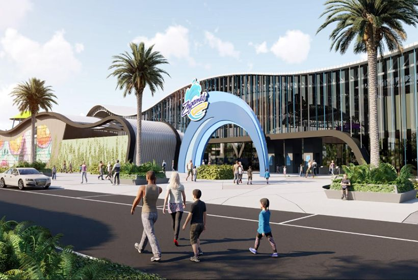 The water park will have nine food-and-beverage outlets. Image: Pellicano