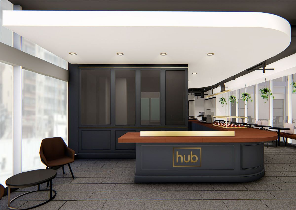 Hub Customs House will have a concierge to welcome members and guests. Image: Supplied