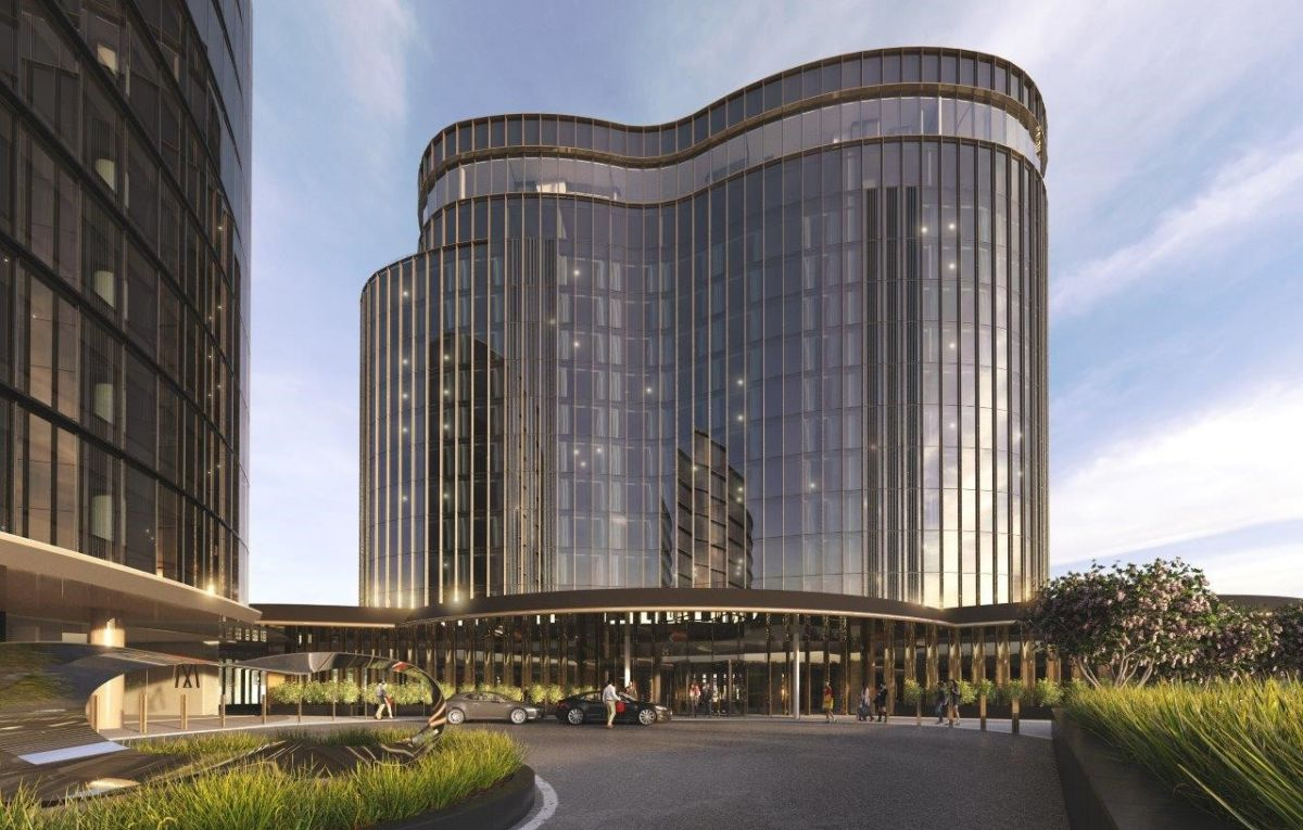The $130 million Hotel Chadstone will open in November this year. Image: Vicinity