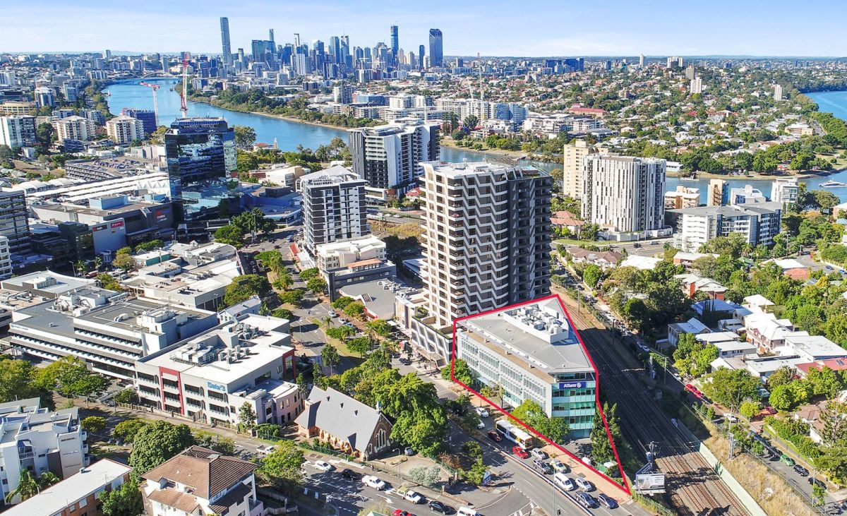 Mr Barker said the property was popular among buyers thanks to its location in the commercial centre of Toowong. Photo: Domain