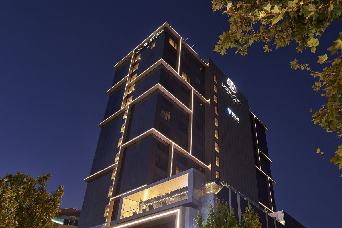 The DoubleTree by Hilton Perth Northbridge in Perth opened early this year. Photo: Supplied