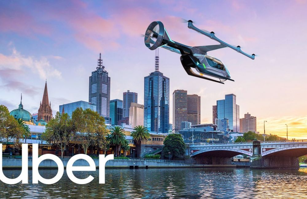 Uber Air Coming to Melbourne by 2020, Enabling 10 Minute Flights From the Airport to the CBD