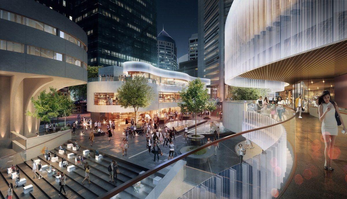 Construction of $170 Million Redevelopment of Sydney's MLC Centre