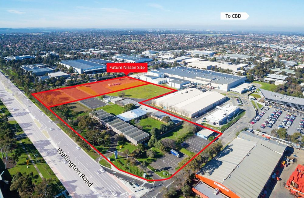 Frasers Property and ESR Acquire 4.67 Hectare Site in Mulgrave Anchored by Nissan Motor Co.