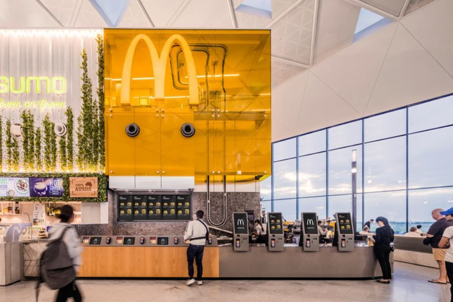 McDonald's in the Sky by Landini Associates