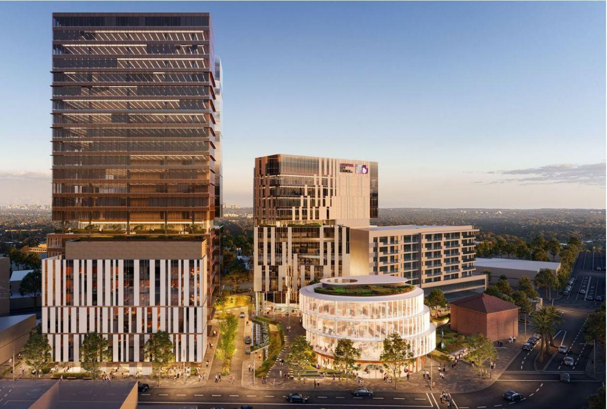 Built To Develop 400m Liverpool Civic Place With Liverpool City Council Sidespace Com Au