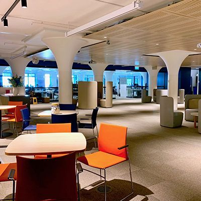 YBF Sydney's coworking space at 155 Clarence Street (Images: YBF Ventures)