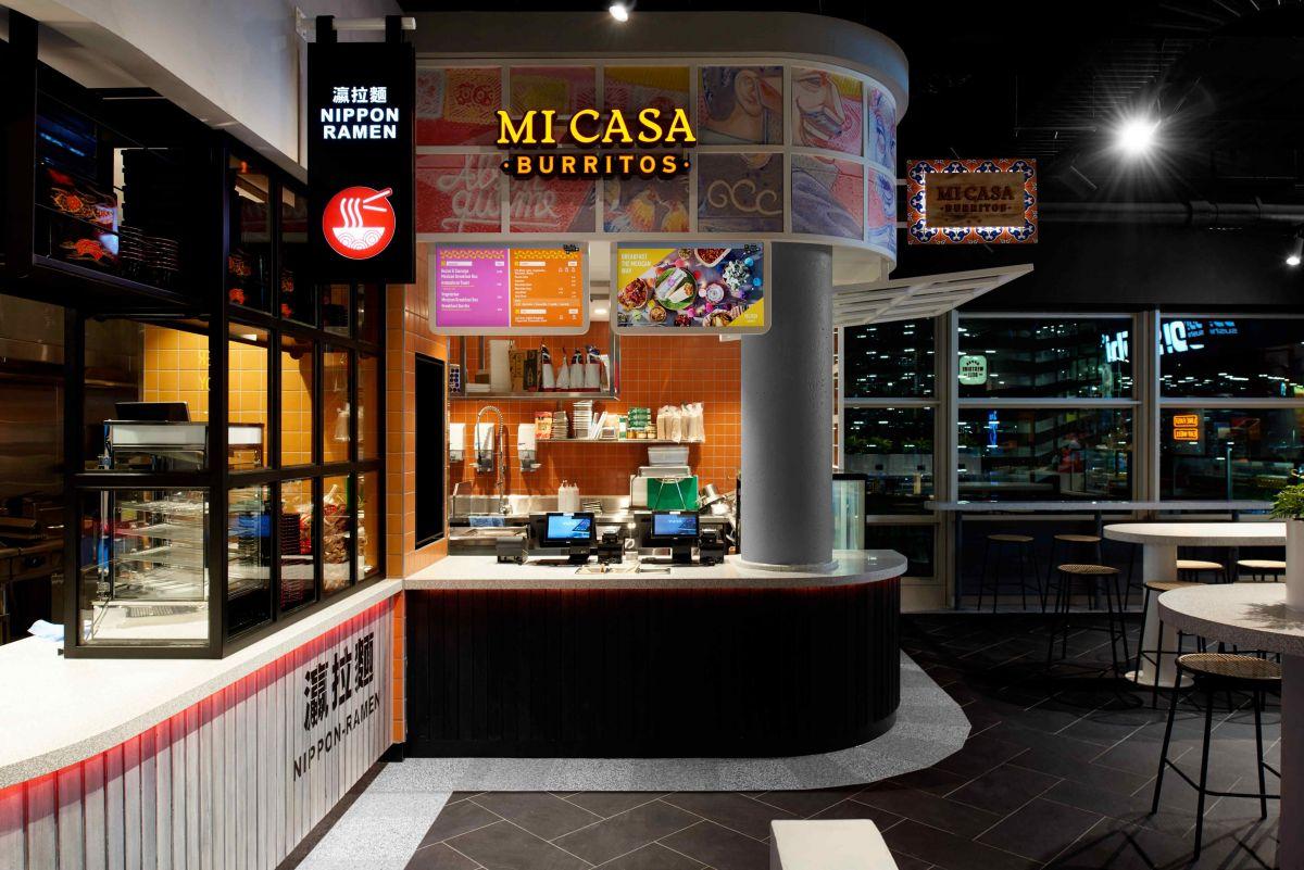 Mi Casa Burritos gives customers their Mexican fix by serving burritos, tacos, and nachos.