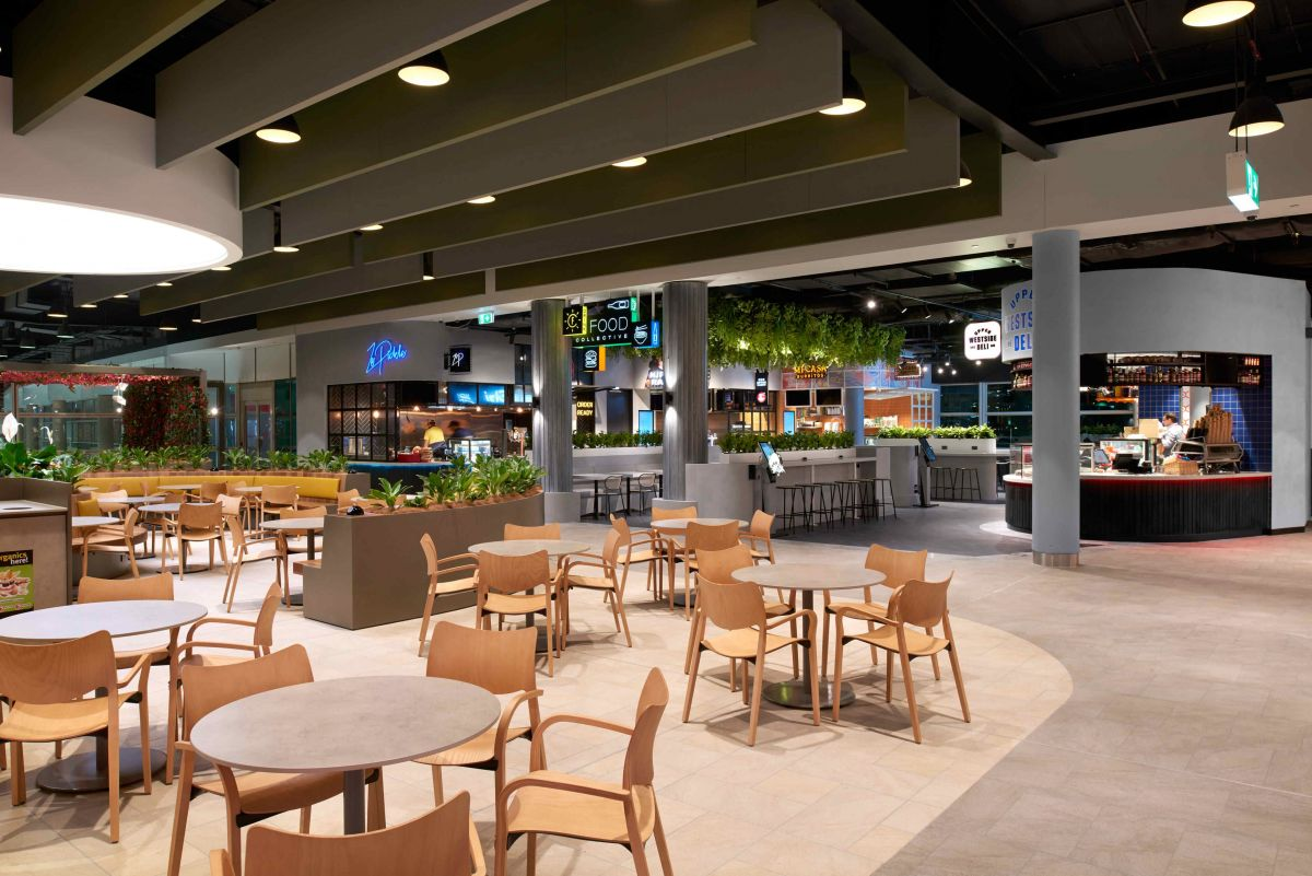 The stalls will be set around a centralised spacious seating area.