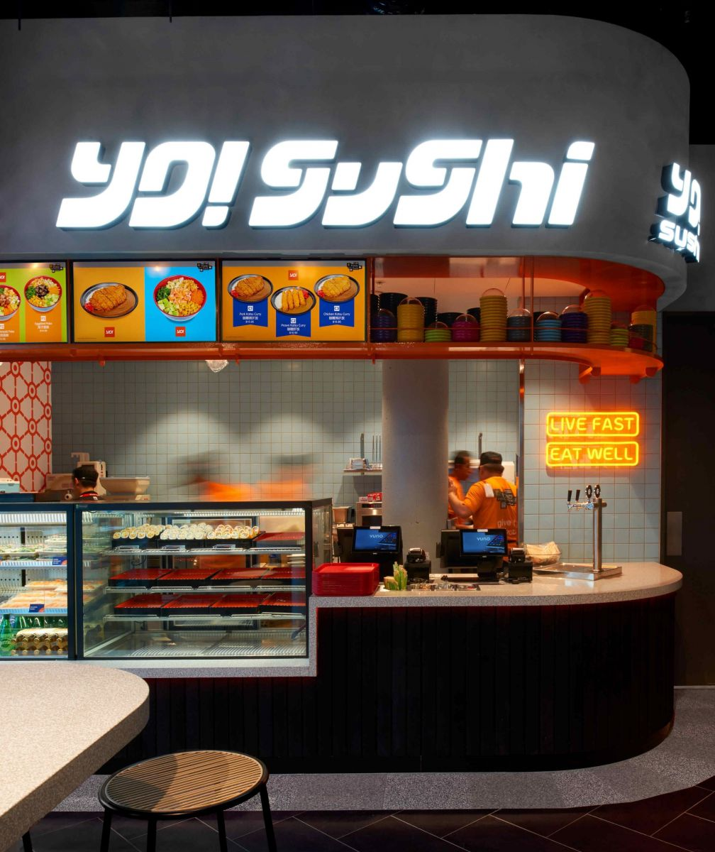 Yo! Sushi serves sushi, sashimi and other classic Japanese dishes.