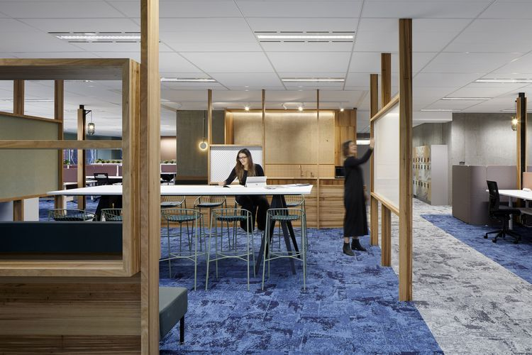 Energy and Water Ombudsman Victoria by WMK Architecture (Australian Interior Design Awards)