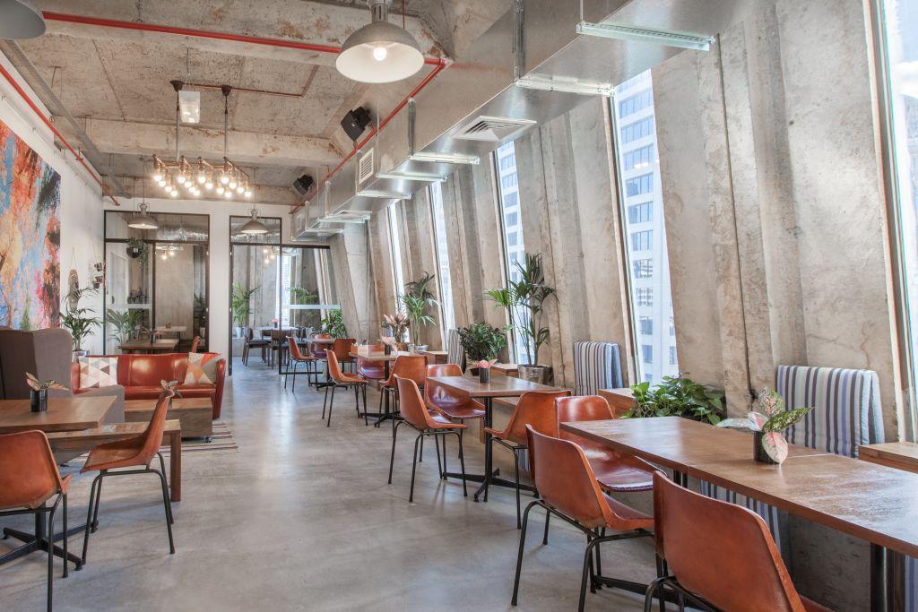Queen Street Melbourne Cafe